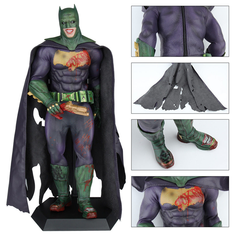 DC 12 The Joker Batman Imposter Version Action Figure 1/6 Scale Collectible Movies Anime Cartoon Figures Kids Gift With Box<br>