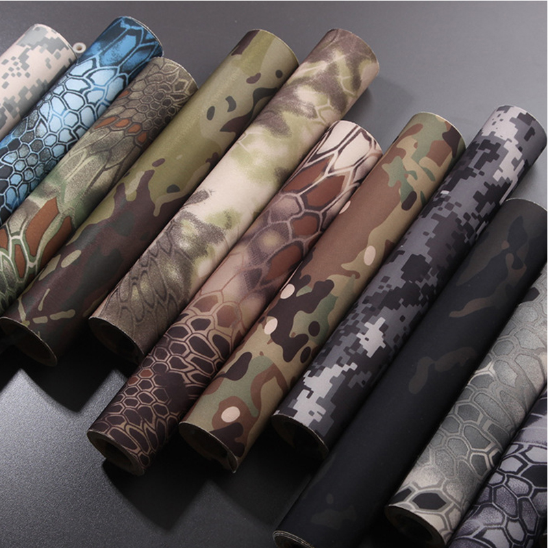 30cmx150cm Military Tactics Outdoor Self-Protection Camouflage tape waterproof high-quality wear-resistant 19-color sticker<br>