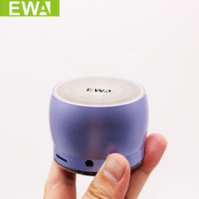EWA A116 Bluetooth Portable Speaker Bass Metal Material Outdoor Fashionable Small Speaker Original EWa Brand Speakers(China)