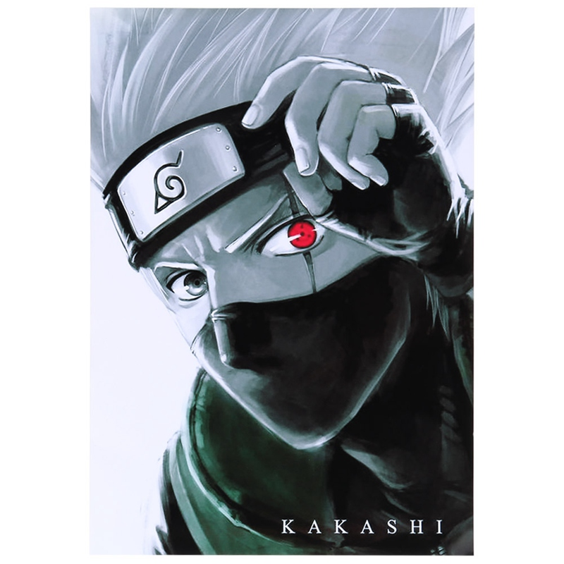 Retro Poster Decorative-Coated Wall-Stickers Naruto Kakashi Prints Anime Vintage Living-Room title=