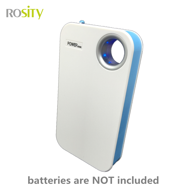 ROSITY DIY Power Bank 18650 battery case 18650 cha...