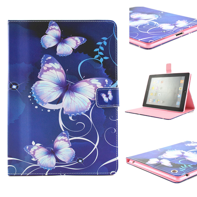 Tablet PU Leather Cases For Apple iPad 2 3 4 iPad2 iPad3 iPad4 iPad 2/3/4 Covers Card Holster Stand Bags Housing Hood Shield<br><br>Aliexpress