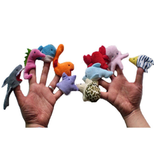Baby Kids Cute Marine Animals Hand Dolls Wholesale Marine Animals Early Education Educational Plush Toys for Children Game Gifts