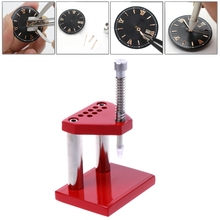 Pro Watch Hand Presto Chrono Presser Setting Fitting Watchmaker Repair Tool Kit(China)