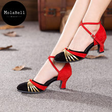 22 Style Women Ballroom Tango Salsa Latin Dance Shoes 5.5 CM Heel Latin Dancing Shoes For Women Girl Adults Ladies Dancing Shoes