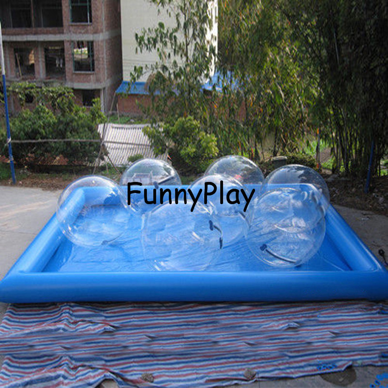 inflatable water ball pool