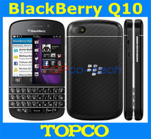 "Original Blackberry Q10 unlocked mobile phone Dual core 3.1"" touch screen QWERTY 3G&4G GSM 8MP RAM 2G 16G ROM dropshipping"