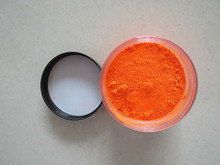 sell neon pigment, fluorescent pigment powder, orange fluorescent pigments, item:HLP-8002, color: orange, 1bag=1kg(China)