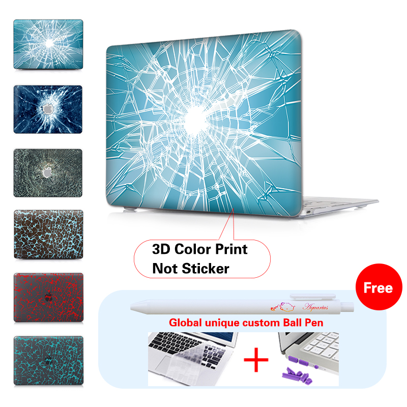 Glass Crushing Crystal Laptop Case For Macbook Air 13 Case Air 11 Pro 13 15 Retina For Mac Book Air 13 Case A1465 New 12 Inch<br><br>Aliexpress