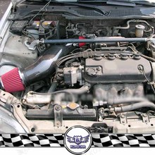 Real Carbon Fiber Air Intake Pipe For Hon Civi C 92-00 EG EK With Air Filter Intake Pipes & Car Accessories JDM(China)