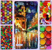 AKABEILA Mobile Phone Case DIY Paitned Soft TPU Rubber (For 3G Version) For Huawei Ascend G6 3G P6 Mini U00 U10 4.5 inch cases(China)