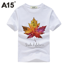 A15 Boy t shirts for children Full Sleeve 3D T-shirt for Girls Kids Top Tees Cotton T Shirts for Summer Teens Tees 10 12 14 Year(China)