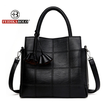 Buy Fashion Brand Pu Leather Women Shoulder Bags Famous Female Designer Ladies Hand Bags Tassel Women Handbags Large Tote Bags Sac for $19.33 in AliExpress store