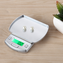 1PC Brand New Mini Electronic Jewelry Scale LCD Display with Backlight 200G/0.01G Pocket Scale(China)