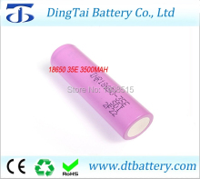 20 brand cell 18650 3500mAh high discharge current original INR18650 35E INR18650-35E battery Li-ion - Dingtai Battery Store store