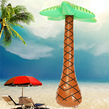 New Funny Inflatable Hawaiian Tree Large Inflatable for Palm Tree Jungle Toy For Hawaiian Summer Beach Party Decoration