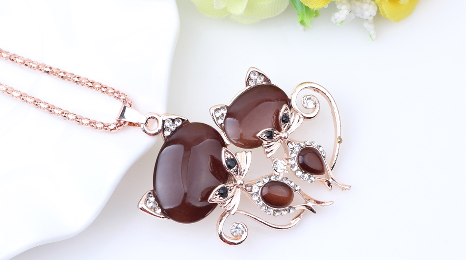 BONSNY CAT NECKLACE LONG PENDANT-Cat Jewelry-Free Shipping BONSNY CAT NECKLACE LONG PENDANT-Cat Jewelry-Free Shipping HTB1l8pKdlHH8KJjy0Fbq6AqlpXaG