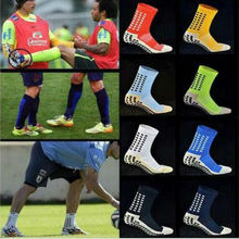 GLCO High Quality Brand New Anti Slip Soccer Socks Cotton Football Socks Men Cycling Socks(China)