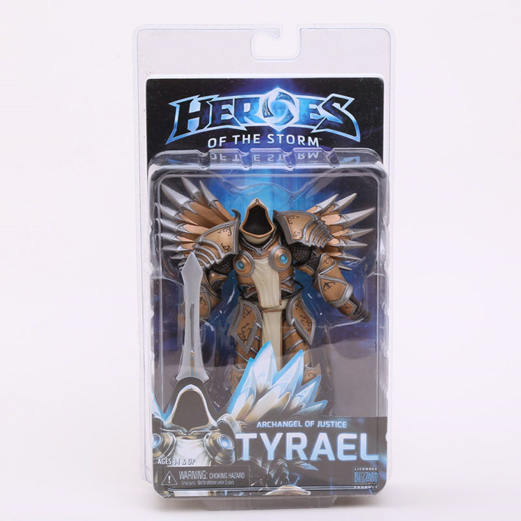 NECA Heroes of The Storm Tyrael PVC Action Figure Collectible Model Toy 7 18cm<br><br>Aliexpress