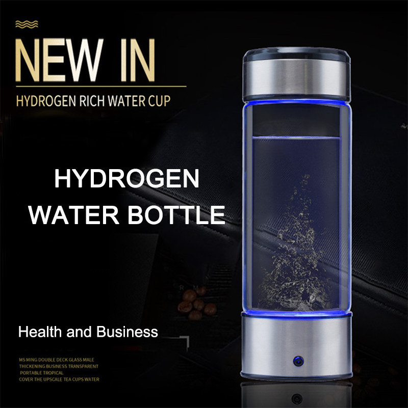 4YANG Hydrogen Water Portable 3-mins Hydrogen Water Bottle 380MLHydrogen Alkaline Water Bottle Machine Hydrogen Content up to 1300-16000 PPM