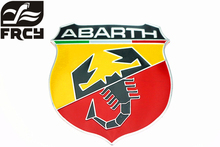 2017 Real New 3d Car Abarth Metal Adhesive Badge Emblem Logo Decal Sticker Scorpion For All Fiat Punto 124/125/125/500 Styling