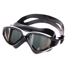 Unisex HD Anti-fog Goggle Large Waterproof Sport Swimming Eyewear Glasses Plain Glass Goggle Plating