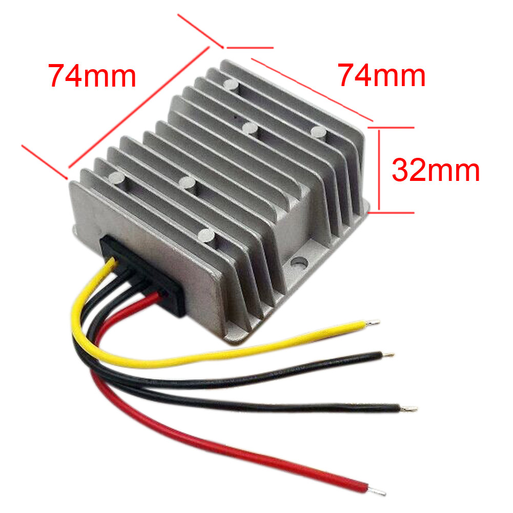 Hot Power Buck Supply Converter DC 48V(30-60V) To 24V 15A 360W Step Down Voltage Regulator Module Waterproof Adapater<br>