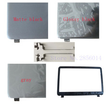 NEW Laptop Top LCD Back Cover/LCD Bezel Screen Cover/Hinges For HP 15-G000 15-G100 15-R000 15-R100 255 G3 case SPS 761695-001