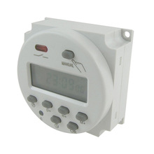 Digital  LCD Power Programmable Timer Time Switch AC/DC 12V/24V/110V/220V And CN101A\CN102A Accessories --M25