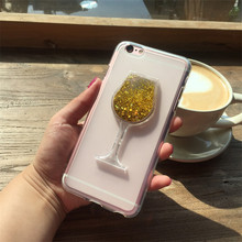Buy Red Wine Cup Dynamic Liquid Bling Glitter Quicksand Moving Star Cover Letv Leeco Le Cool 1 / Coolpad Cool1 Phone Case for $4.73 in AliExpress store