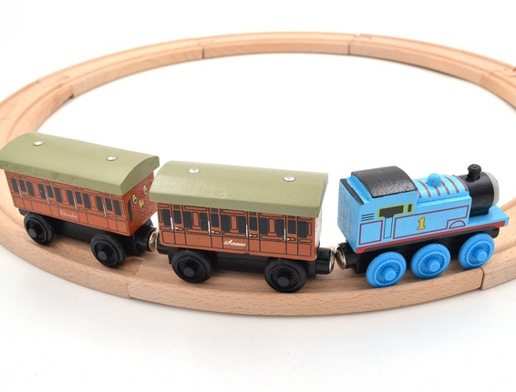 wood train railway toys