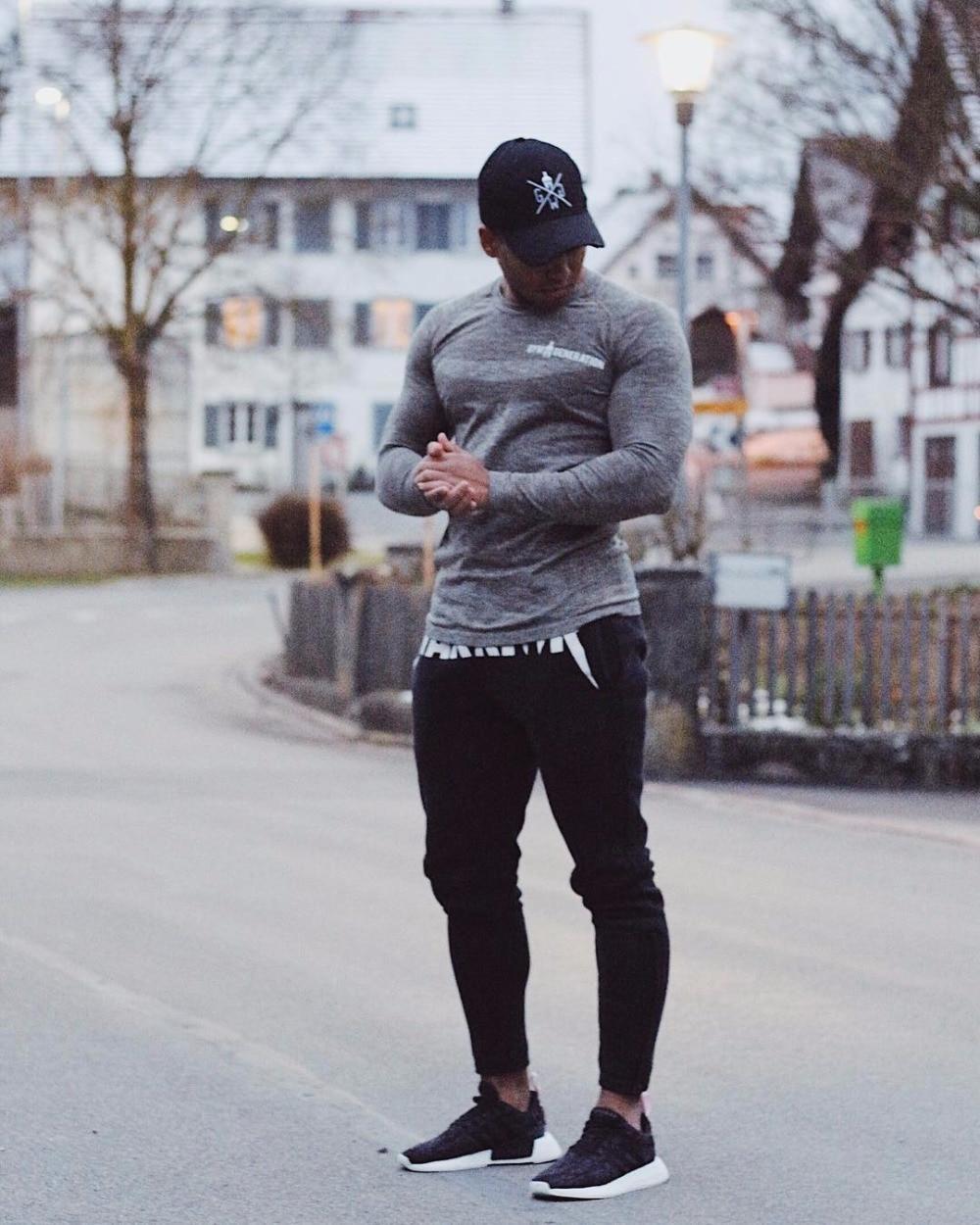 Brand Gyms Men Joggers Casual Men Sweatpants Joggers Pantalon Homme Trousers Sporting Clothing Bodybuilding Pants 24