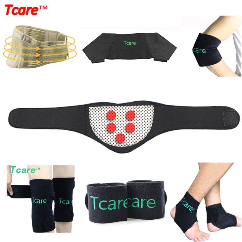 Tcare Magnetic Therapy Self Heating Tourmaline Brace Set Posture Waist Belt Elbow Ankle Wrist Neck Shoulder Knee Pads Braces<br>