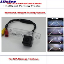Liislee High Quality 3089 Chip Intelligentized Rear Camera For KIA Borrego / Mohave / NTSC PAL RCA AUX HD CCD 580 TV Lines(China)