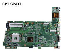 YTAI N73SV Rev:2.0 mainboard with 3 DDR3 Slot GT540M HM65 For Asus laptop N73S N73SV N73SM, 8 pieces Graphics card,free shipping