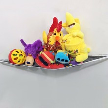 Children Room Toys Stuffed Corner Animals Large Storage Holder Net Pet Plush Toys Hammock Net Storage Holder Organize New Hot(China)
