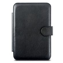 Luxury Leather Case for Amazon Kindle 3 Kindle3 Keyboard 6 inch Ereader , Ebook Cover with Magnet + Screen Pen as Gift