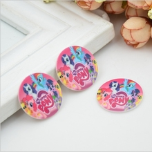 31*31mm Cartoon Horse resin flatback planar resin for hair bow deco Free shipping YR06(China)