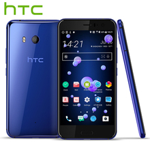 Original HTC U11 4G LTE Mobile Phone Snapdragon 835 Octa Core IP67 Waterproof 4/6GB RAM 64/128GB ROM 5.5 inch 2560x1440p Phone(China)