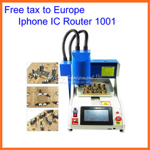 No tax! LY 1001 automatic iphone ic remove router, cnc milling machine for iPhone Main Board Repair