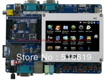 Free shipping TINY6410 + 4.3inches Resistive screen ARM11 development board With 100gb of data(China)