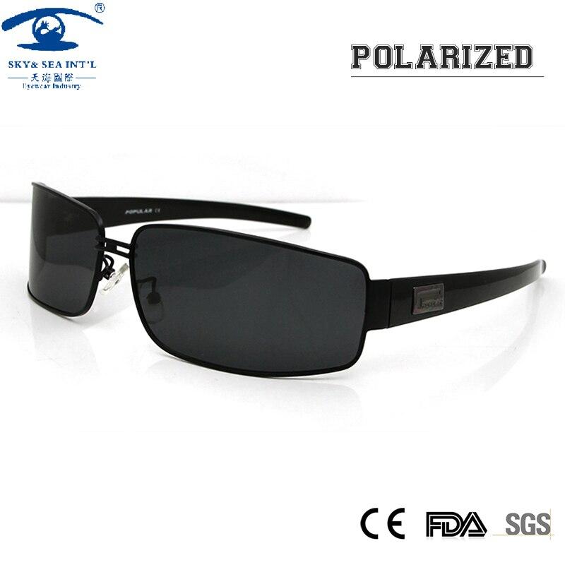 Mens Polarized Sport Sunglasses Pilot Sun Glasses for Men UV Protection Sun Eye Glasses for Male Brand Design with Logo<br><br>Aliexpress