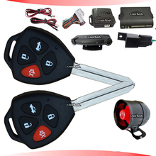 auto car alarm system with shock sensor alarm and motion alarm double mode remote anti-hijacking
