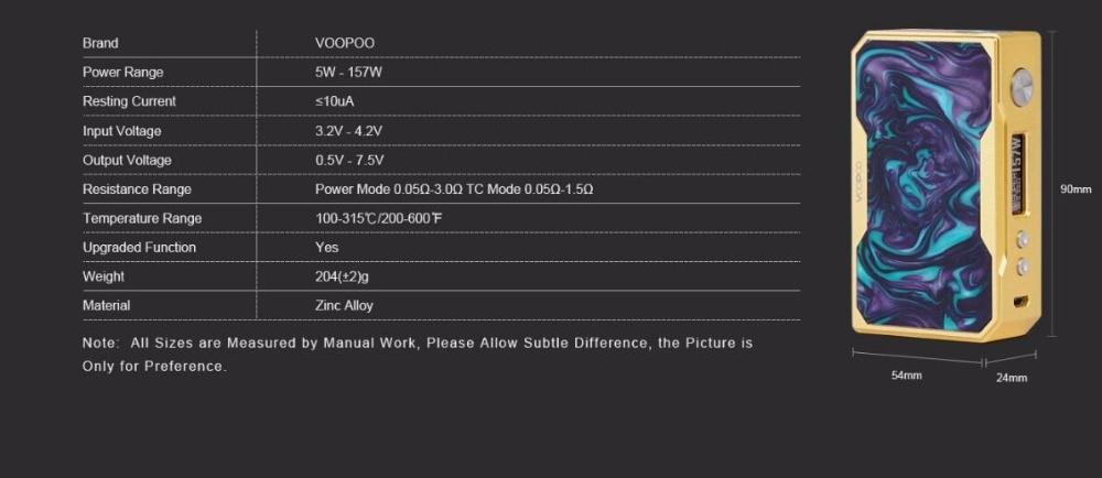 Voopoo Drag X007 157W-7