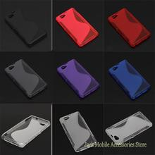 For Sony Xperia Z1 mini M51W Z1 Compact High Quality Skidproof Rubber Gel Skin TPU S Line Soft Drop Resistant Phone case Cover(China)