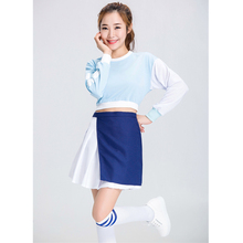 SESERIA Girls Cheerleader Costume Hight School Girl Musical Cheerleading Uniform Outfit S-2XL