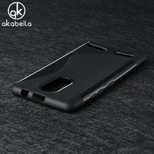 AKABEILA Silicon Phone Case For Lenovo Vibe K6 K6 Power 5.0 inch Cover Shell Cell Phone Cases For Lenovo K6 Covers(China)