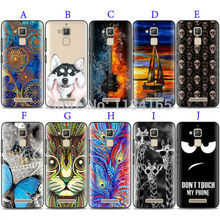 TPU Case for ASUS Zenfone 3 Max ZC520TL 5.2 inch Colorful Patterns Color Painting Soft Skin Gel Phone Back Cover