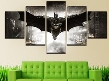 HD Printed batman knight of the dark comics Group Room Decoration Painting Canvas Print Canvas Print Image Canvas YH-070(China)