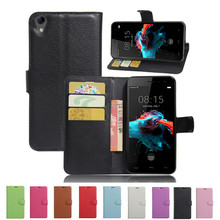 Homtom HT16 Case 5.0 inch Luxury PU Leather Back Cover HOMTOM Flip Protective Phone Bag Skin Funda - ShenZhen FengPei 3C Digital Store store
